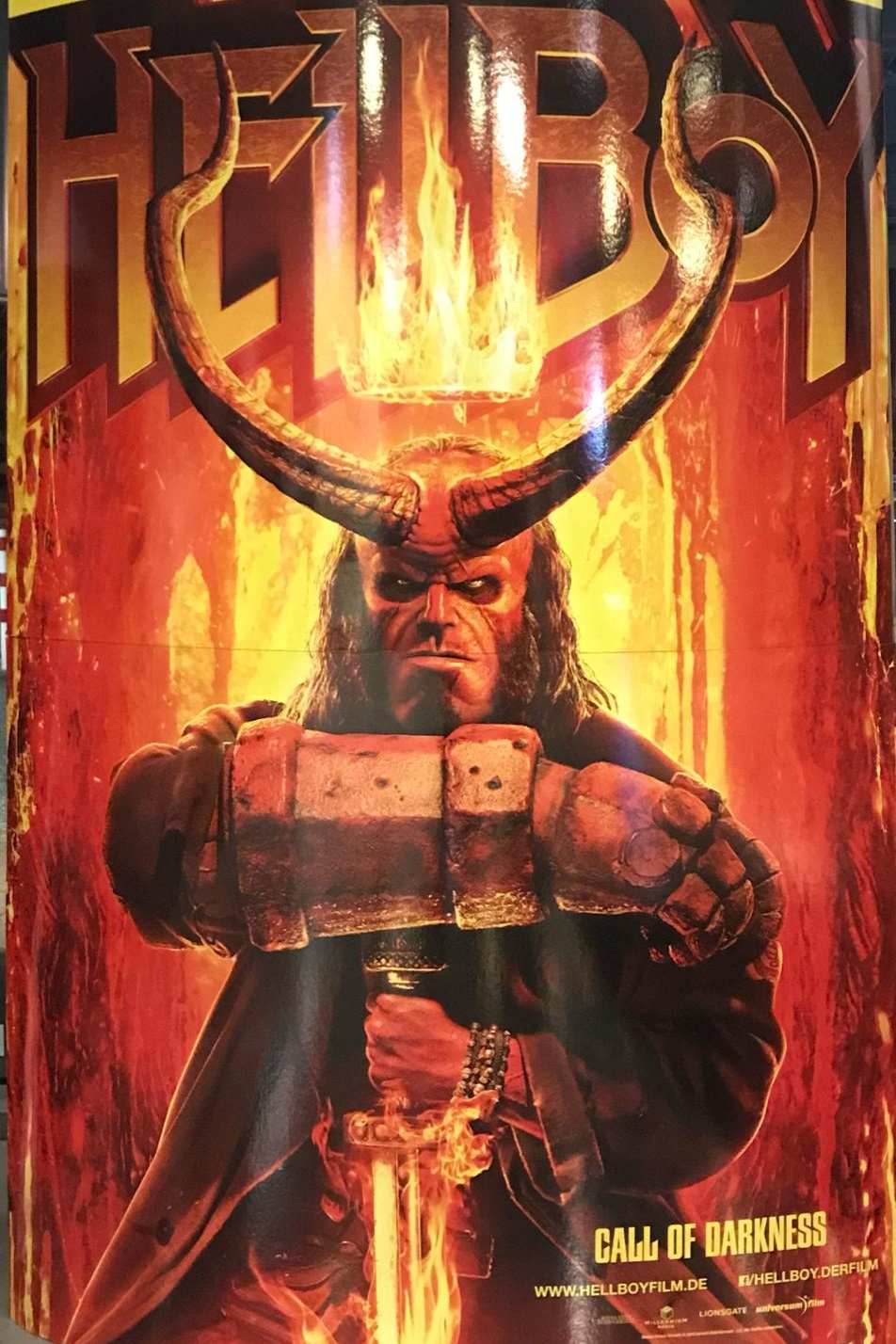 Hellboy Hörner