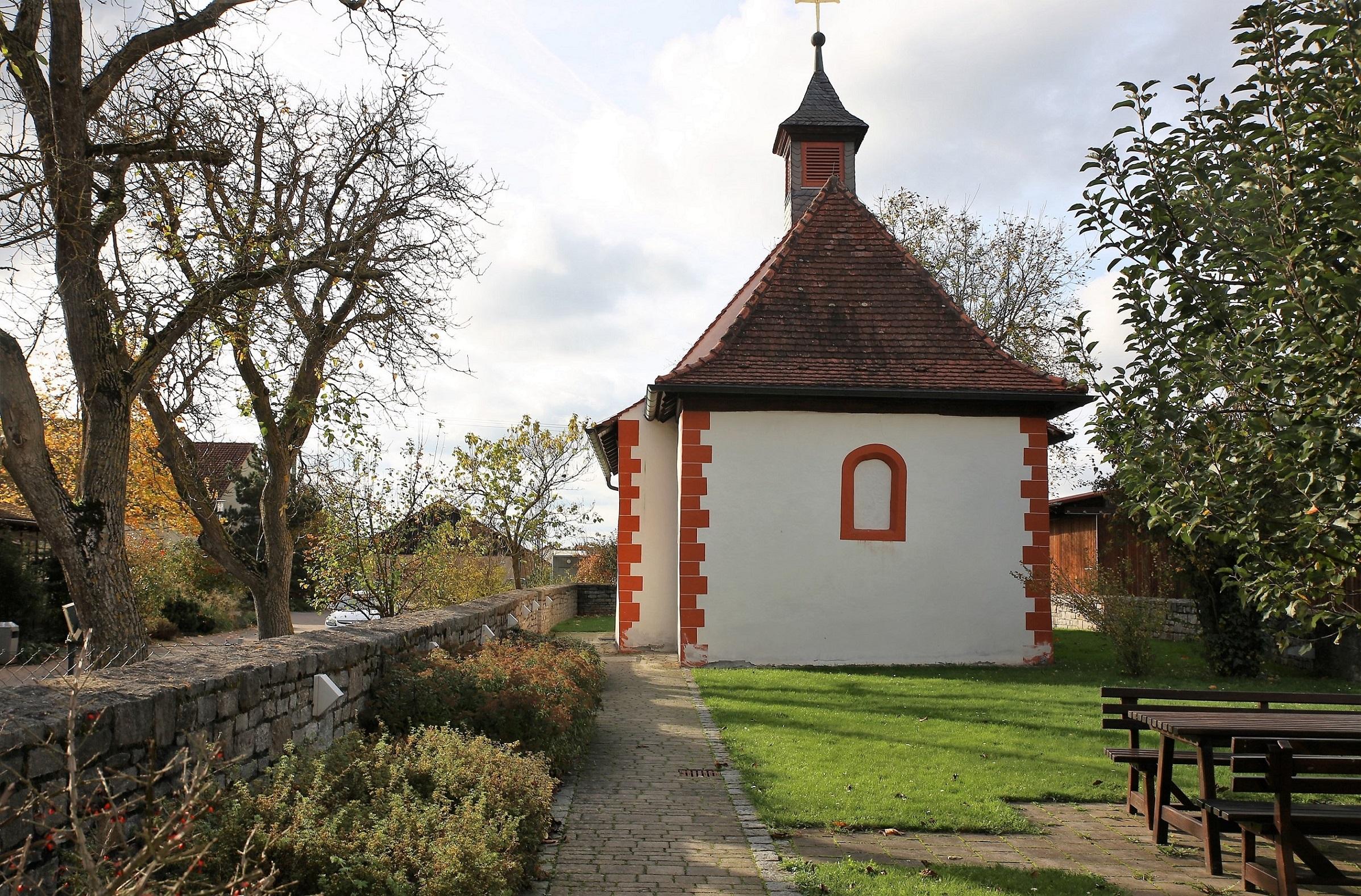 Gadheim Markuskapelle © Foto: Dieter Gürz