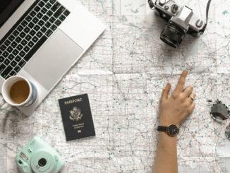Karte und Pass