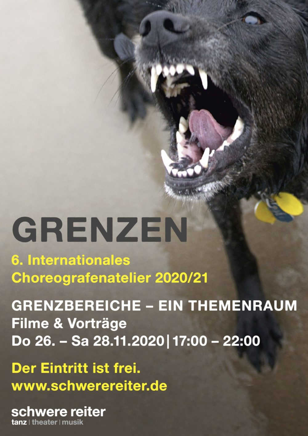 Anzeige: 6. internationales Choreografenatelier 2020/21
