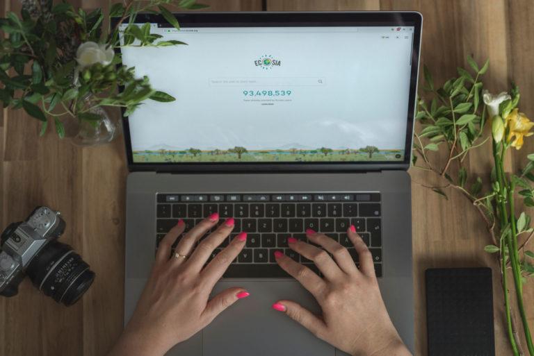 Die klimapositive Suchmaschine Ecosia – jetzt auch an den Münchner Unis