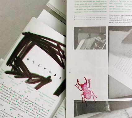 Die erste Ausgabe der colophon: Viel Bild, viel Text.